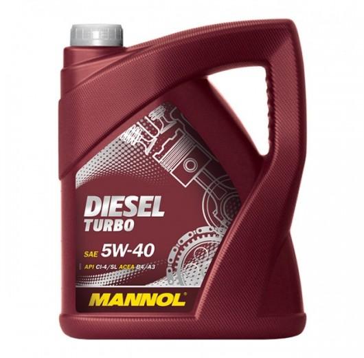 Mannol Diesel Turbo SAE  5W-40 API CI-4/SL