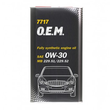 7717 O.E.M. for MERCEDES BENZ SAE 0W-30