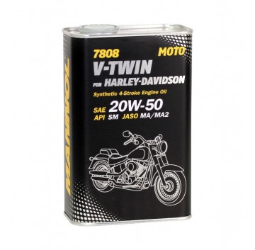 MANNOL 7808 V-Twin for Harley-Davidson API SM
