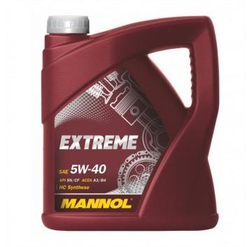 Mannol Extreme SAE  5W-40 API SN/CF