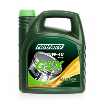 FANFARO GSX 15W-40 API SG/CD