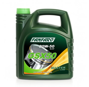 FANFARO GSX 50 20W-50 API SL/CF
