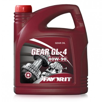 Transmission oil Favorit Gear GL-4 SAE 80W-90 API GL-4