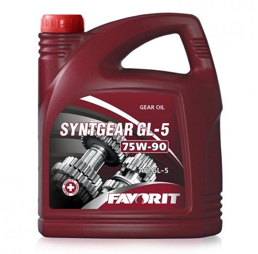 Transmission oil Favorit Syntgear GL-5, SAE 75W-90 API GL-5