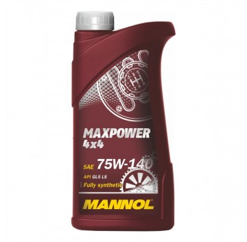 Mannol Maxpower  75W-140  4x4  API GL-5  LS