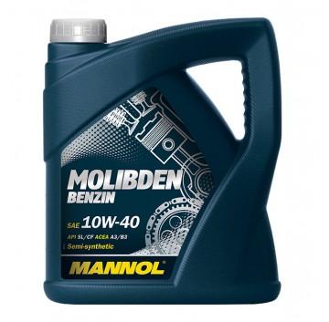 MANNOL Molibden Benzin 10W-40 API SL/CF