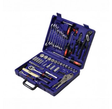 9309 Combined Socket And Tool Set (74pc)